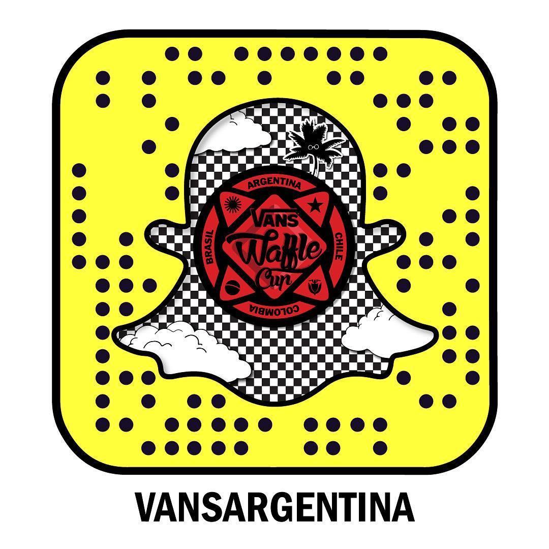 También vamos a contar lo que pasa en la final #VansWaffleCup en Snapchat: vansargentina.