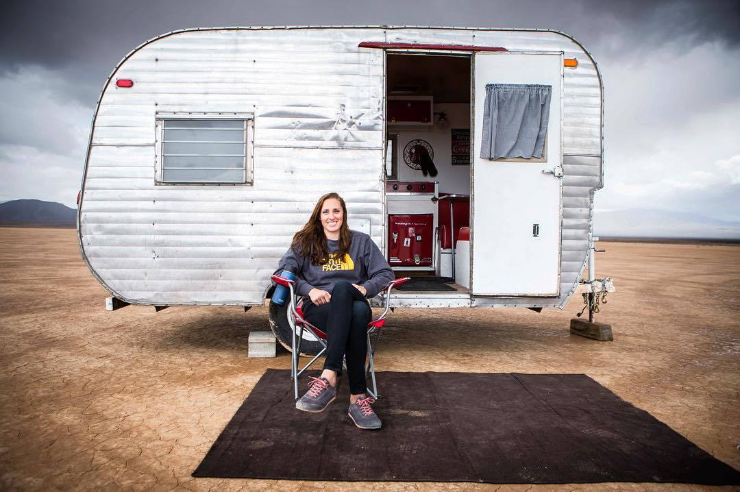 Meet @alexjohnson89 and her trailer that has been blown over, stolen, bought back, and called home by a squatter and his crack pipe. To learn more, and to see the video, follow the link in our profile.