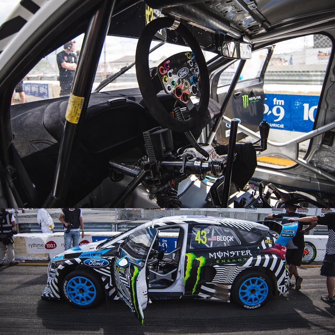 A closer look at HHIC @kblock43's Ford Focus RS RX! #CanadaRX #focusrs #hoonigan