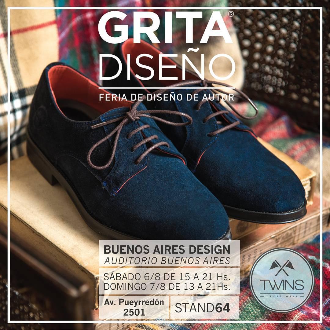 Todavía no pasaste? Feria #GritaDiseño  Venite y conseguí tus próximos twins!! Estamos hasta las 21hs  #TwinsStyle #gritadiseño #DiseñoDeAutor #zapatos #shoes #instafashion #moda #modamasculina #streetfashion #fashionformen #argentina...