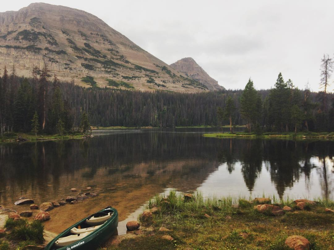 We wrapped up a great week in #Utah with a trip up to the Uintas. Glad to see so many familiar faces at #orshow and we're looking forward to next time! #outdoorretailer #beutahful