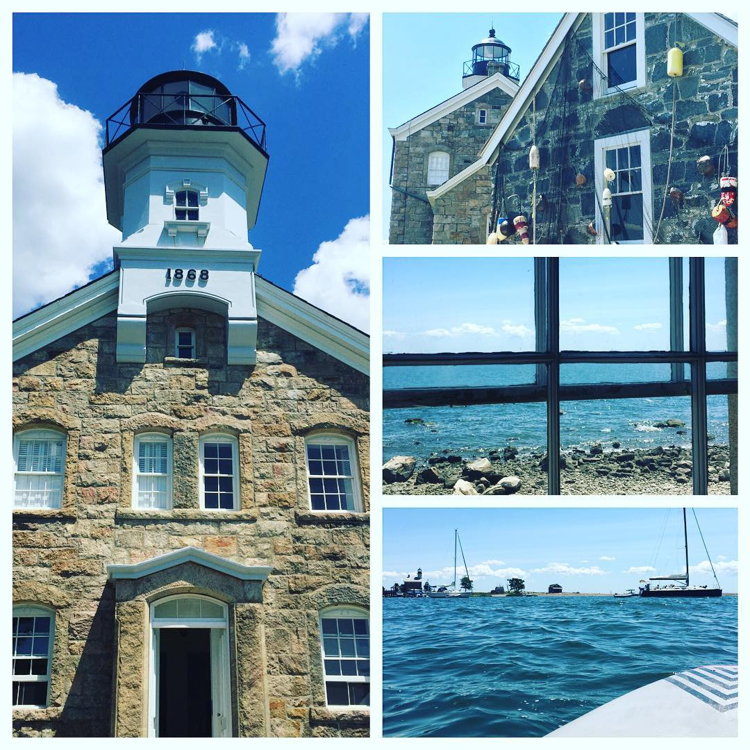 Thanks for the #sup @rahafner #sonomafia #sheffieldisland #justsendit #sheffieldislandlighthouse #southnorwalk #sundayfunday