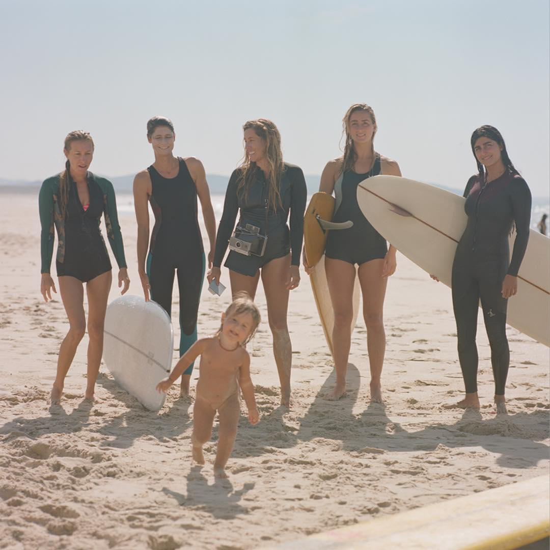 Spent some time surfing aside these lovely ladies in May and @theseakin wrote a story about it in the current @surfingworld. Photo: Dave Homcy