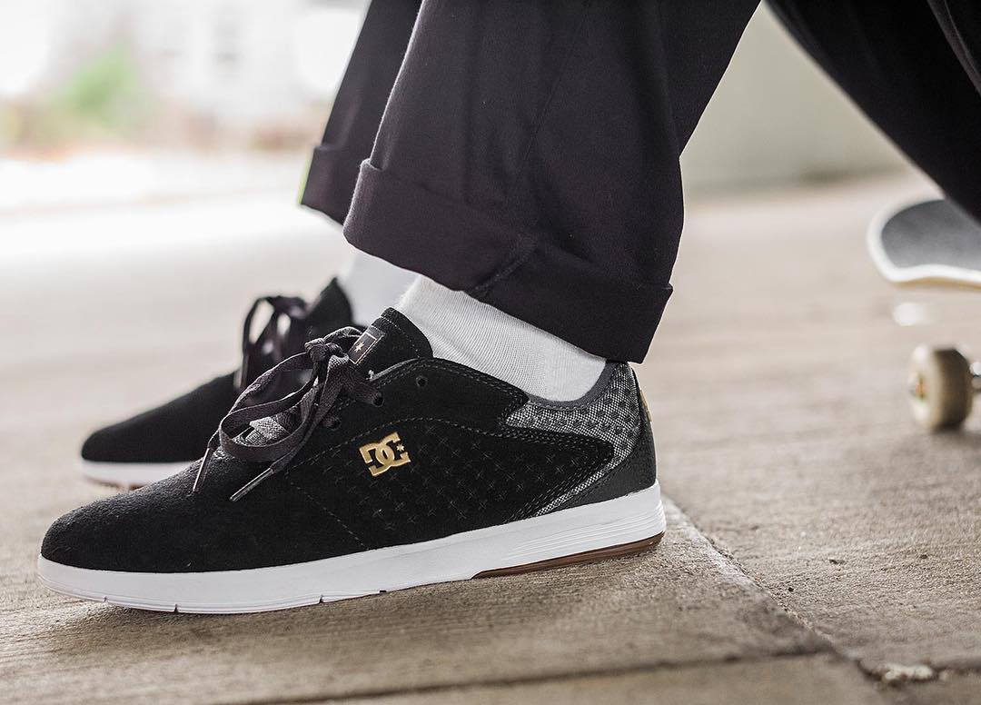 @davistorgerson skates the New Jack S in black SUPER SUEDE. Get your pair at skateshops everywhere and at: dcshoes.com/newjack. #DCShoes #DCNewJack