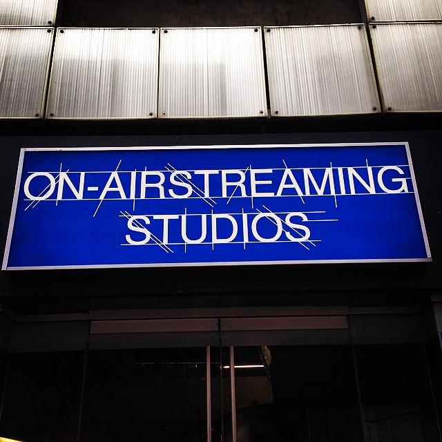Day #something @sxsw. On air streaming with Vance Joy. #sxsw #vancejoy thanks to @jbinatx