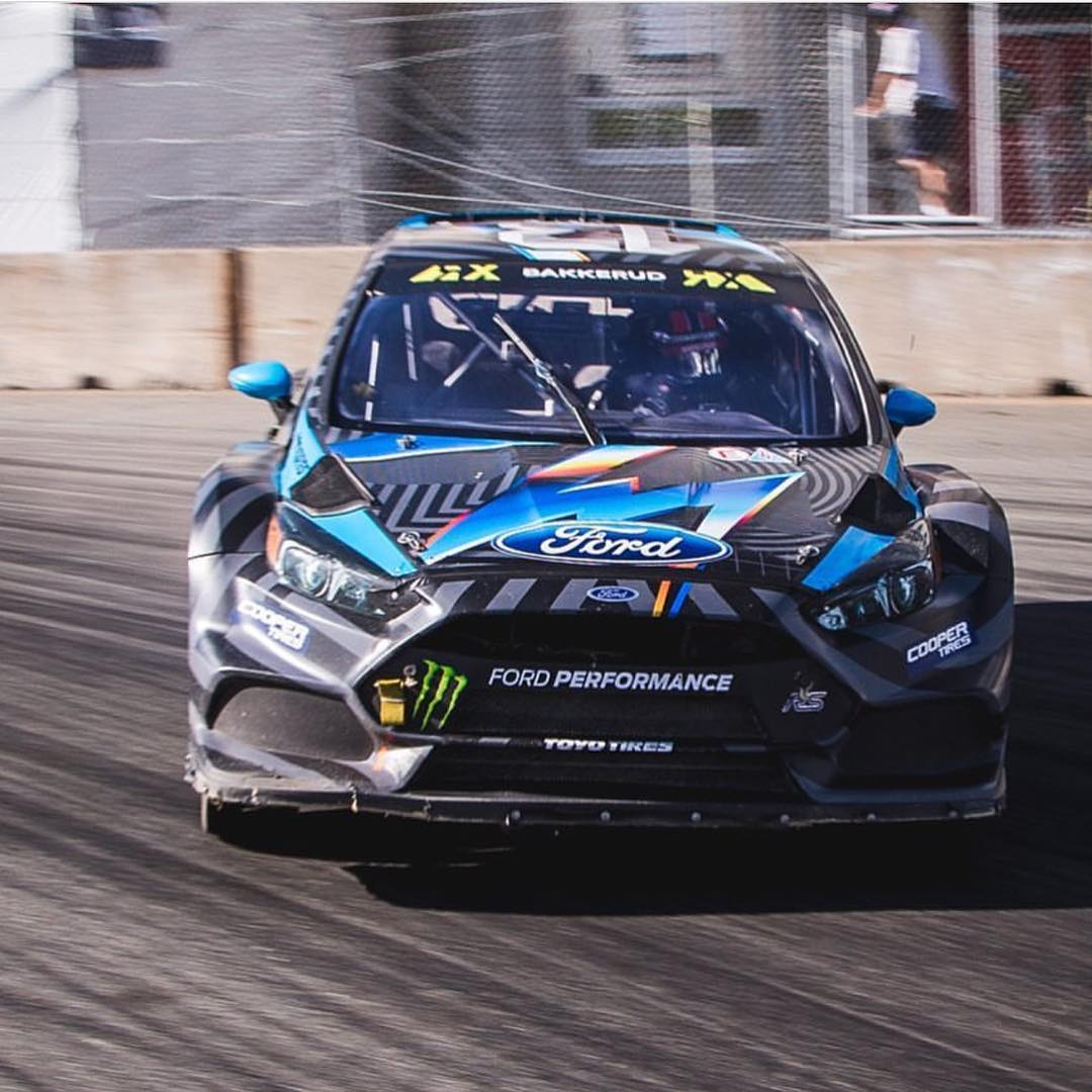 Congrats again to our dude @andreasbakkerud and @hooniganracing for bringing home silver in Canada yesterday! #ford #hoonigan