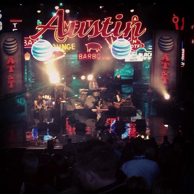 Kimmel Live in Austin. #SXSW #kimmelinaustin