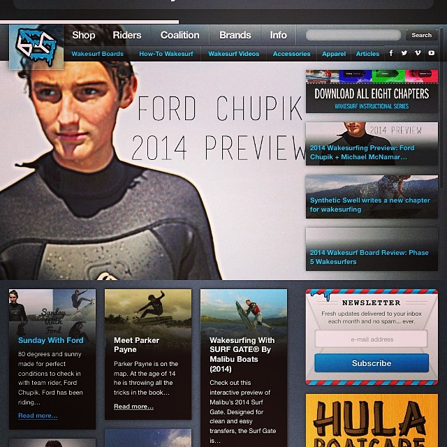 2014 Wakesurf preview Video is up at slayshTank.com. Featuring @ford_chupik on shred and @mikemacmadeit on edit. #wakesurf #wakesurfing @shredstixx