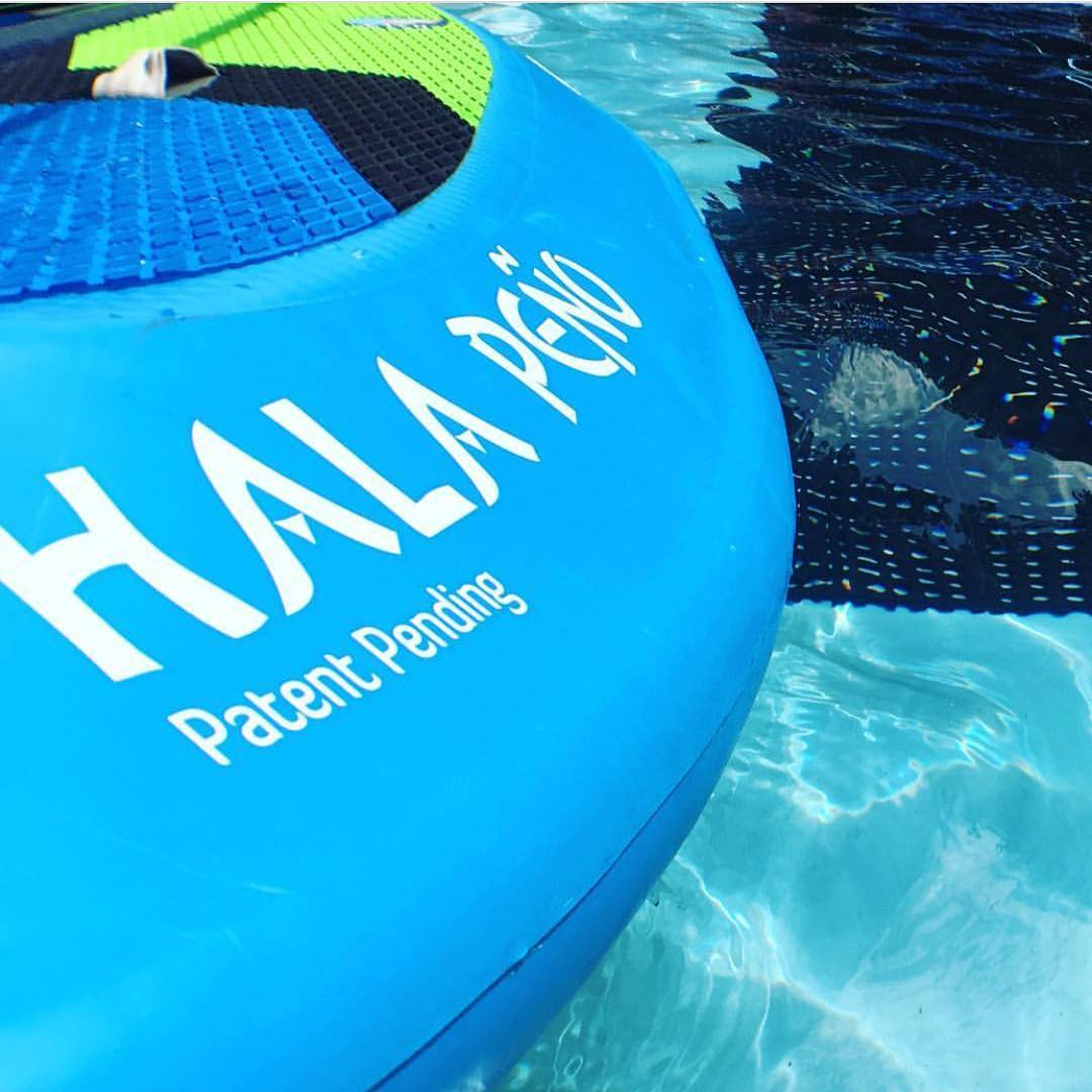 Revealed at @outdoorretailer .... The new #HalaPeno has the rails and contours of a traditional river surfing hard board. Being inflatable it's a lot more durable and stable!