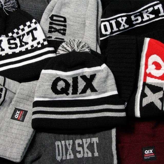 Touca #qix pra aquecer a sessão neste inverno! Toucas QIX - LOJAQIX.COM.BR #qix #qixskate #streetwear