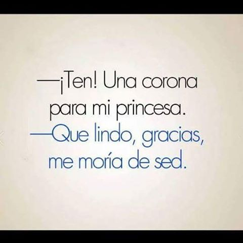 En fin... Soy una princesa