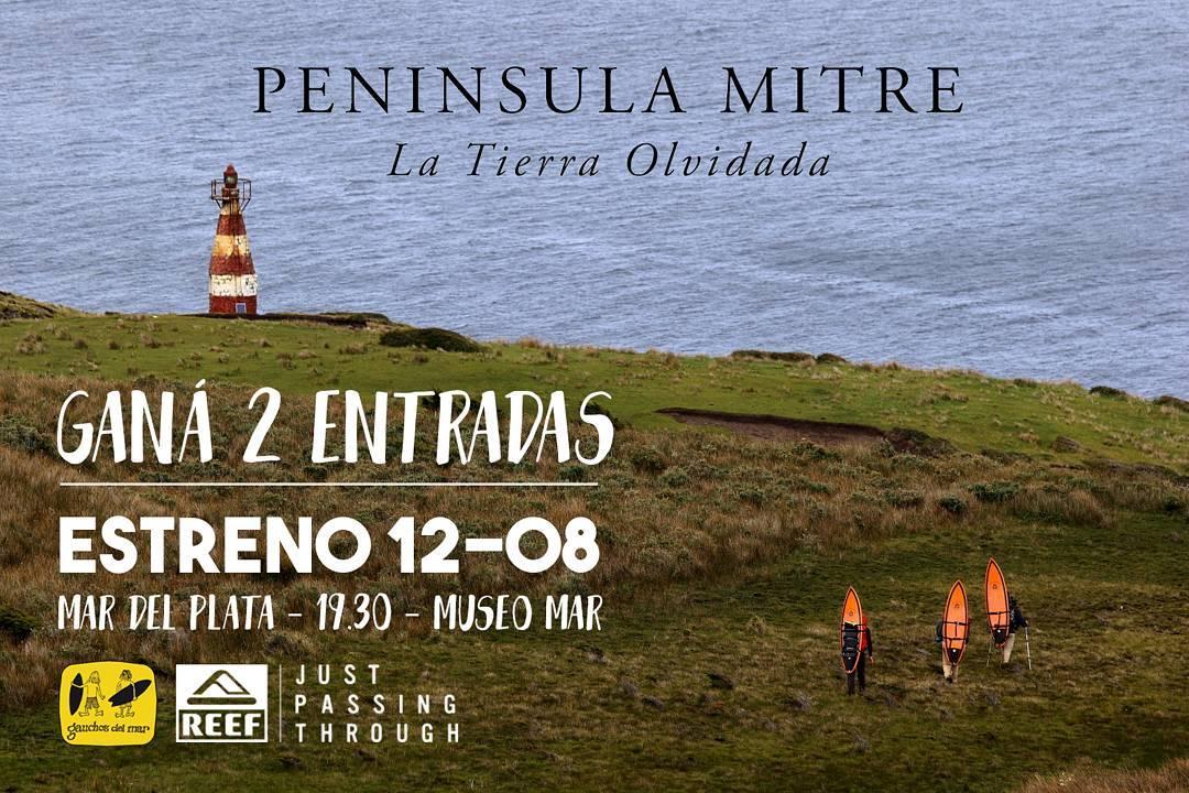 Ganá 2 entradas para ver Peninsula Mitre, La Tierra Olvidada, de @gauchosdelmar este viernes! Con tu compra mayor a $1000 en el Outlet de Mar del Plata (Juan B Justo 1698) estás participando, para más info contactarse por inbox!