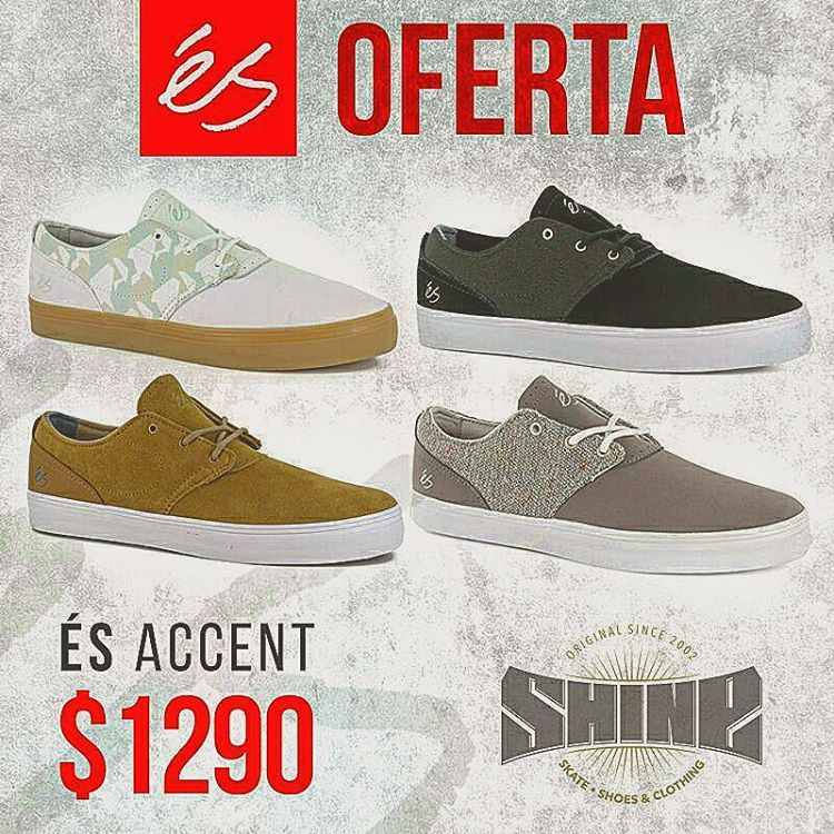 #eSfootwear #OFERTA #skateshoes #supportskaterowned #esaccent