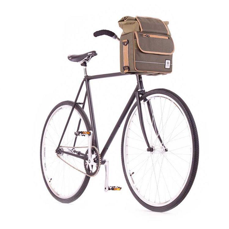 Nueva Linea Avenidas.  Modelo Libertador  Un Bolso que se adapta a tu Bici #dinamo #ciclistasurbanos #accesorios