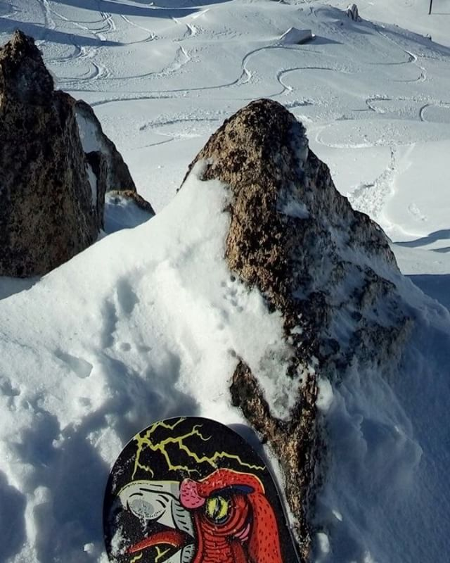 La punta del Condoor de Matias Schmeisser. #matischmeisser