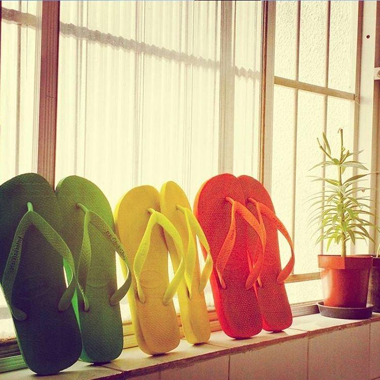 #TôDeHavaianas #HavaianasMoment #VoyConHavaianas #rainbow @tabs_monteiro