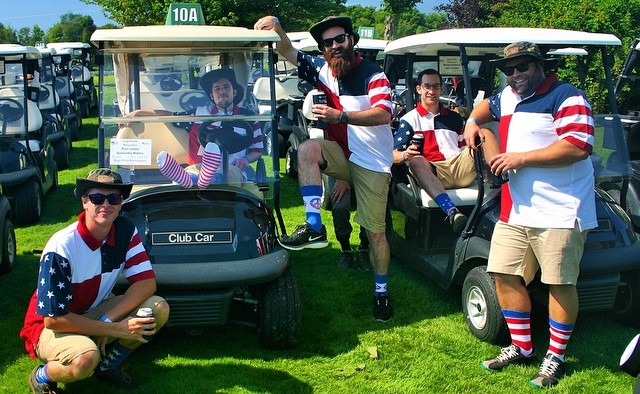 Getting stoked for Fridays Vermont #CharityGolf Tournament and watching more of the #olympics! Go #TeamUSA!