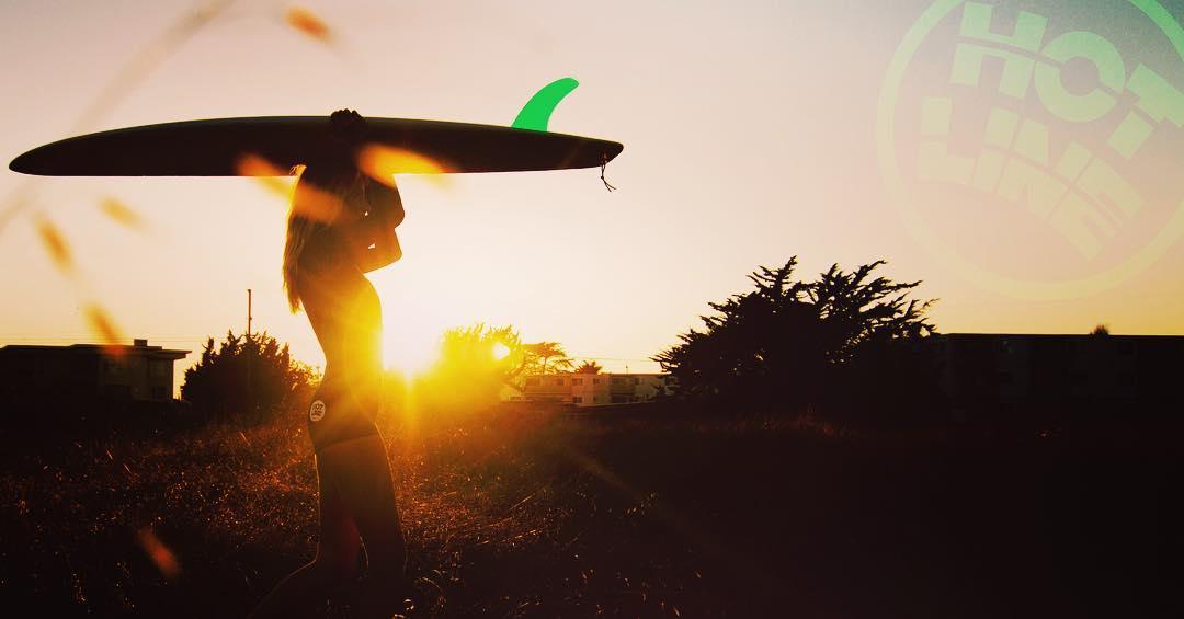 #santacruz #sunset #surflife