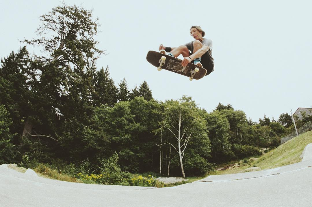 @damianschro gettin some air out in the #PNW