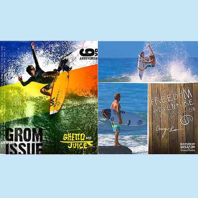New Ghetto Juice Grom Issue is in!  #ghettojuice #ghettojuicemag #bbr #bbrsurf #bbrsurfwear #buccaneerboardriders #gromissue #grangerlarsen #freedom #adventure #selfexpression