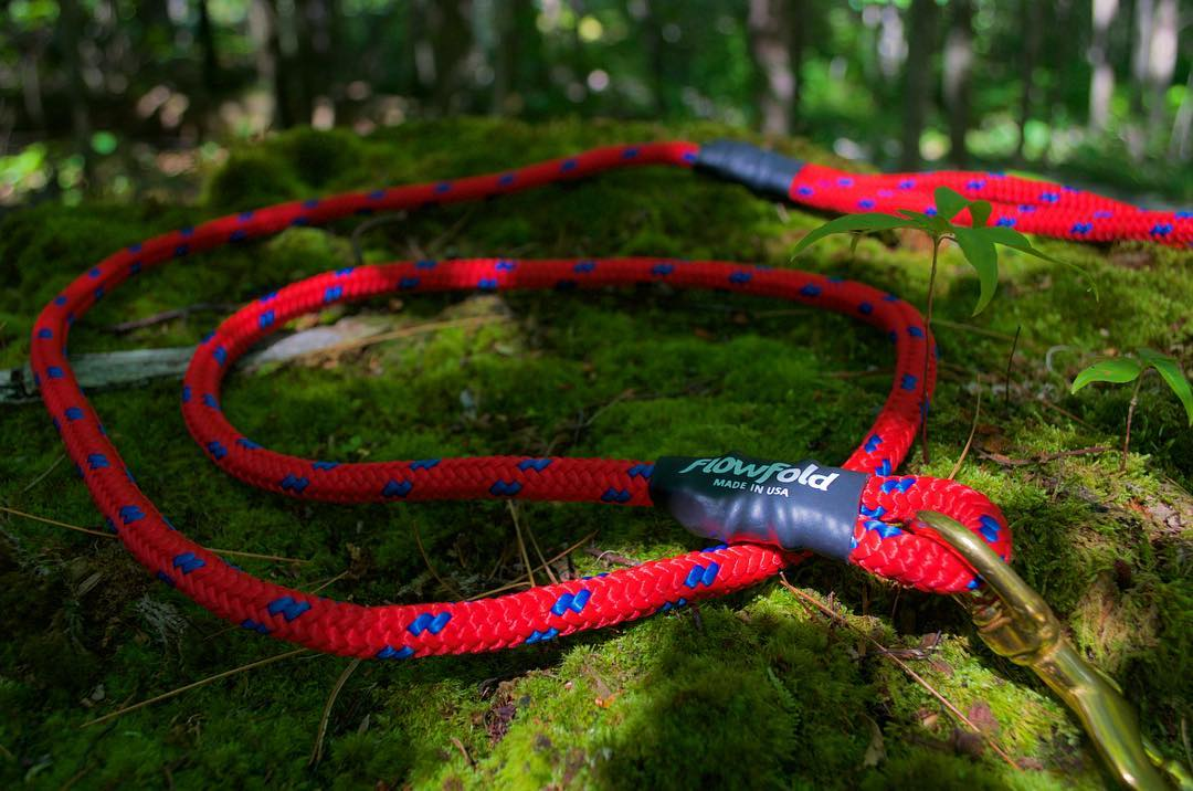 The #Flowfold Trailmate: Our new dog leash made from reclaimed @sterlingrope. For over 20 years, mountaineers have trusted Sterling to reach the peak. We're proud to extend that legacy to four legged friends with the Trailmate dog leash. Available...