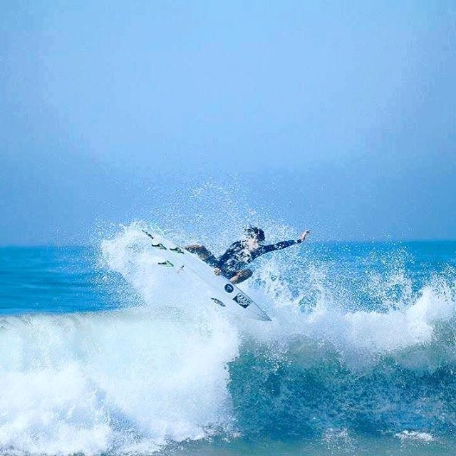 @sebas_ventura en esa ola! #ReefTeam