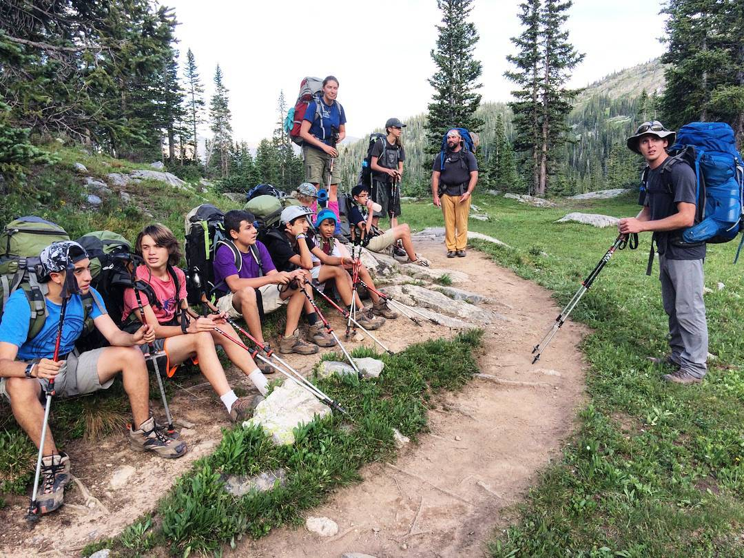 Can't believe this is the last week of #Eagle County #summer programs! Here's a great shot of one of our #backpacking trips from a couple weeks ago