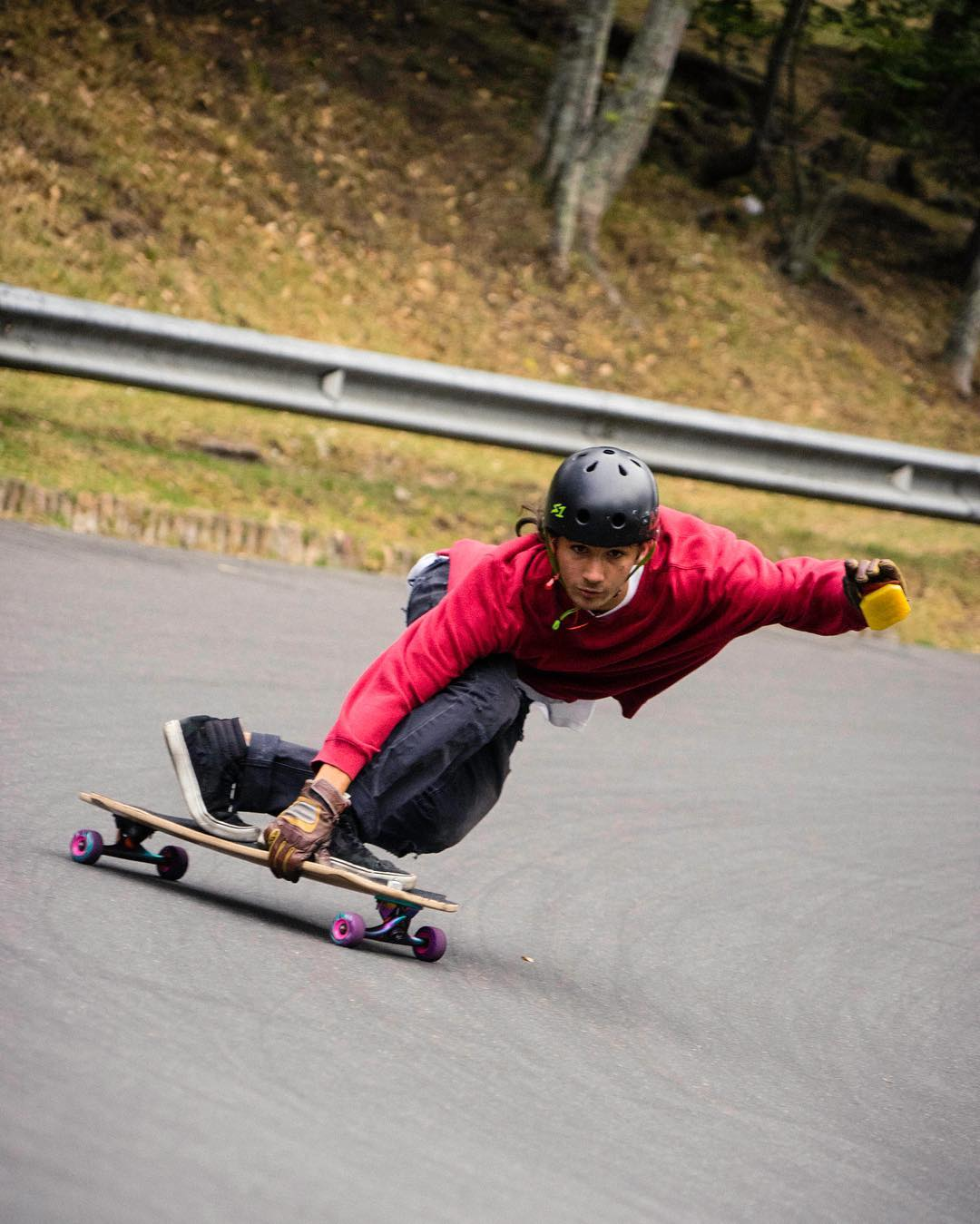 #OrangatangAmbassador @sho_ouellette is down south in Bogotá skating classic local spots.