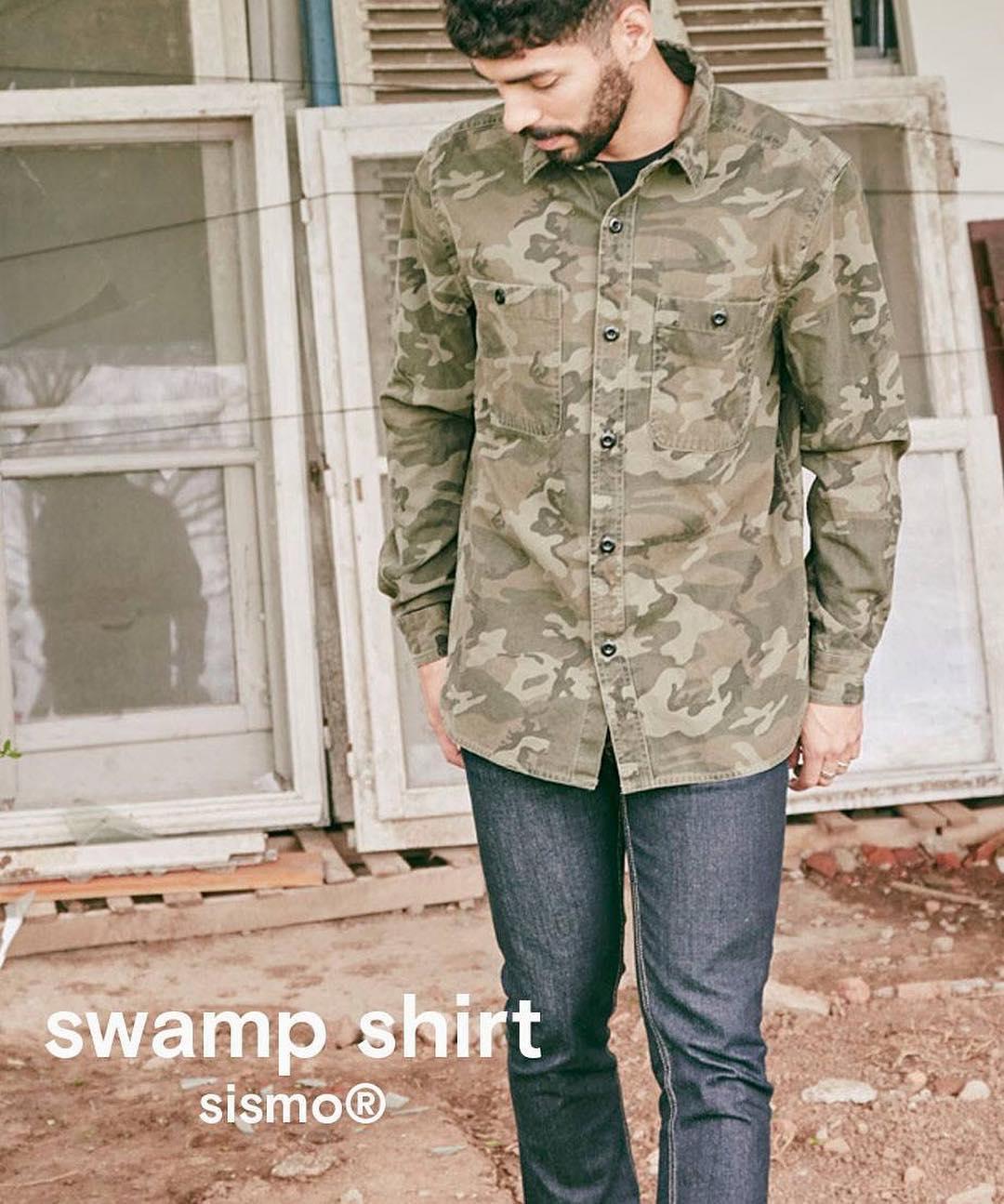 """Aprovecha el precio increíble de la camisa """"swamp"""" y muchos artículos mas en nuestro """"winter sale""""  en www.sismostore.com +  envió gratis a todo el país!!!"""