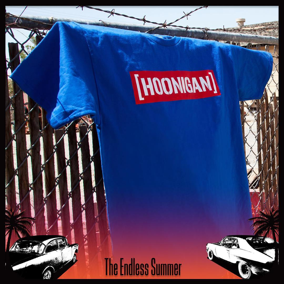 """Get your hands on the all-new Hot Box C Bar tee during the Endless Summer event!  _________ The Endless Summer: Killer deals on rad gear. Plus, we put up a $500 HNGN shopping spree to one lucky winner. Only on #hooniganDOTcom"