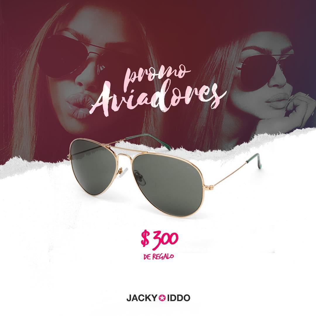 #PROMO Con tu compra de unos lentes estilo Aviador, ¡te regalamos $300! Ingresá el código de descuento: aviadores300 ★ Elegí los tuyos ▶︎ http://bit.ly/PromoAviadores