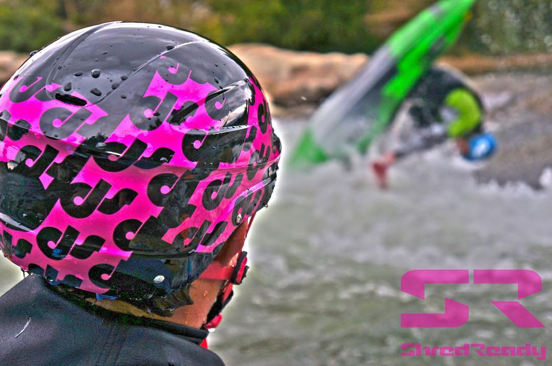 Looping is one of the best feelings in a freestyle kayak. #kayaking #shredready #cuzrockshurt