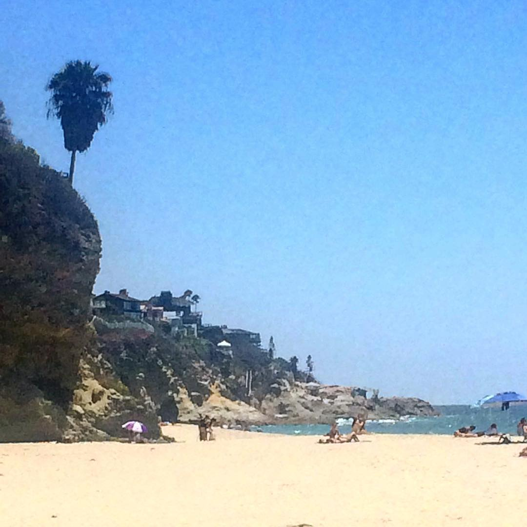 Get out there this weekend! Thousand steps beach in Laguna Beach, CA. #1000steps