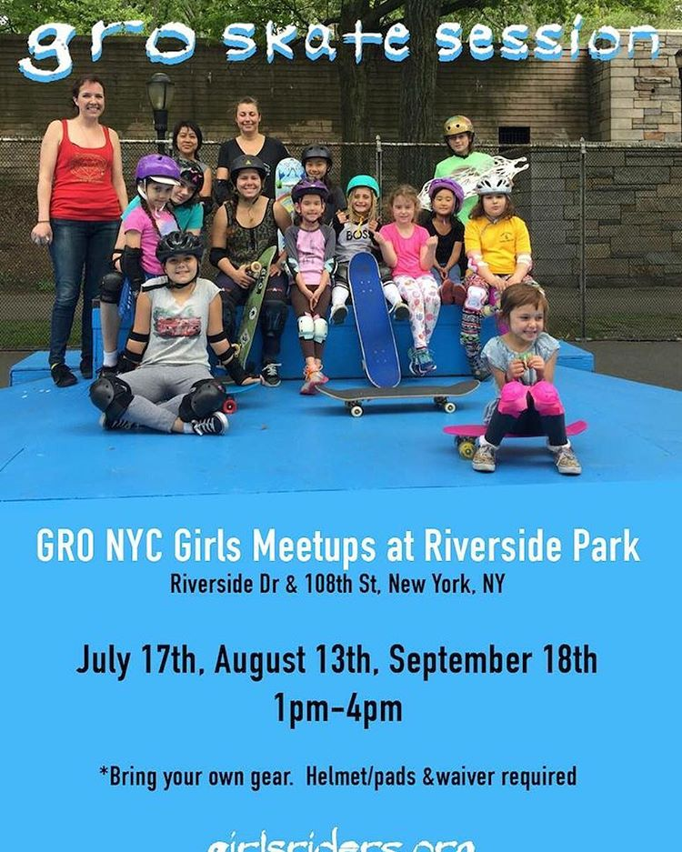 Hope to see you all tomorrow at Riverside Skatepark!  Pads and helmet required to skate #ridetrue #nyskateboarding