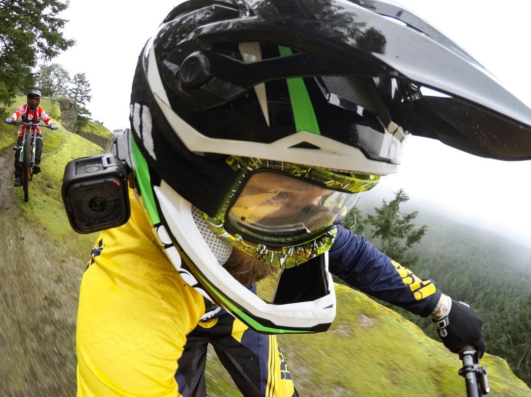 #GoPro Featured Photographer + #GoPro Athlete @geoffgulevich  About the shot: Ripping through #Qualicum, #BC with the homies @kurtsorge + @dberrecloth! Great day out riding, sometimes (like this instance) we just went out for fun. That's what's up!...