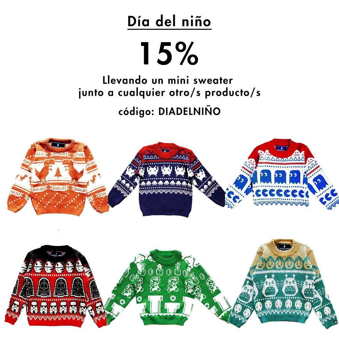 Agregá un Mini Sweater al carrito  y aprovechá un 15% en toda tu compra