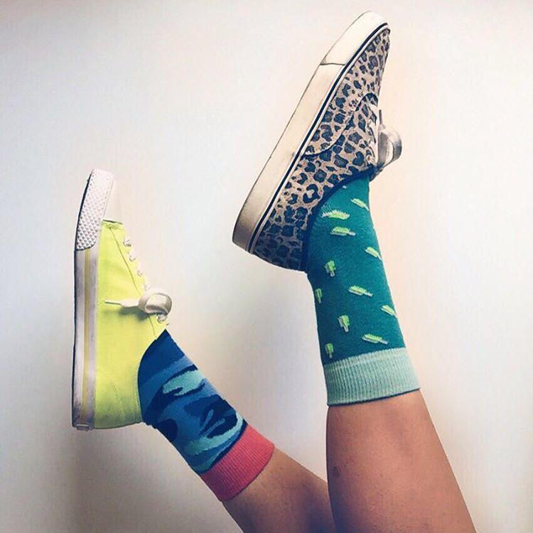 #viernes de #findelargo vale todo #mix&match #yaarrancaelfinde #MediasConOnda #Style #Socks
