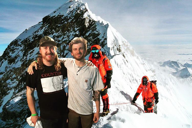 Yo @prophetinthemaking remember when we climbed #Everest without oxygen and jammed on these dudes? Good times, love you dude happy birthday. #haterssay