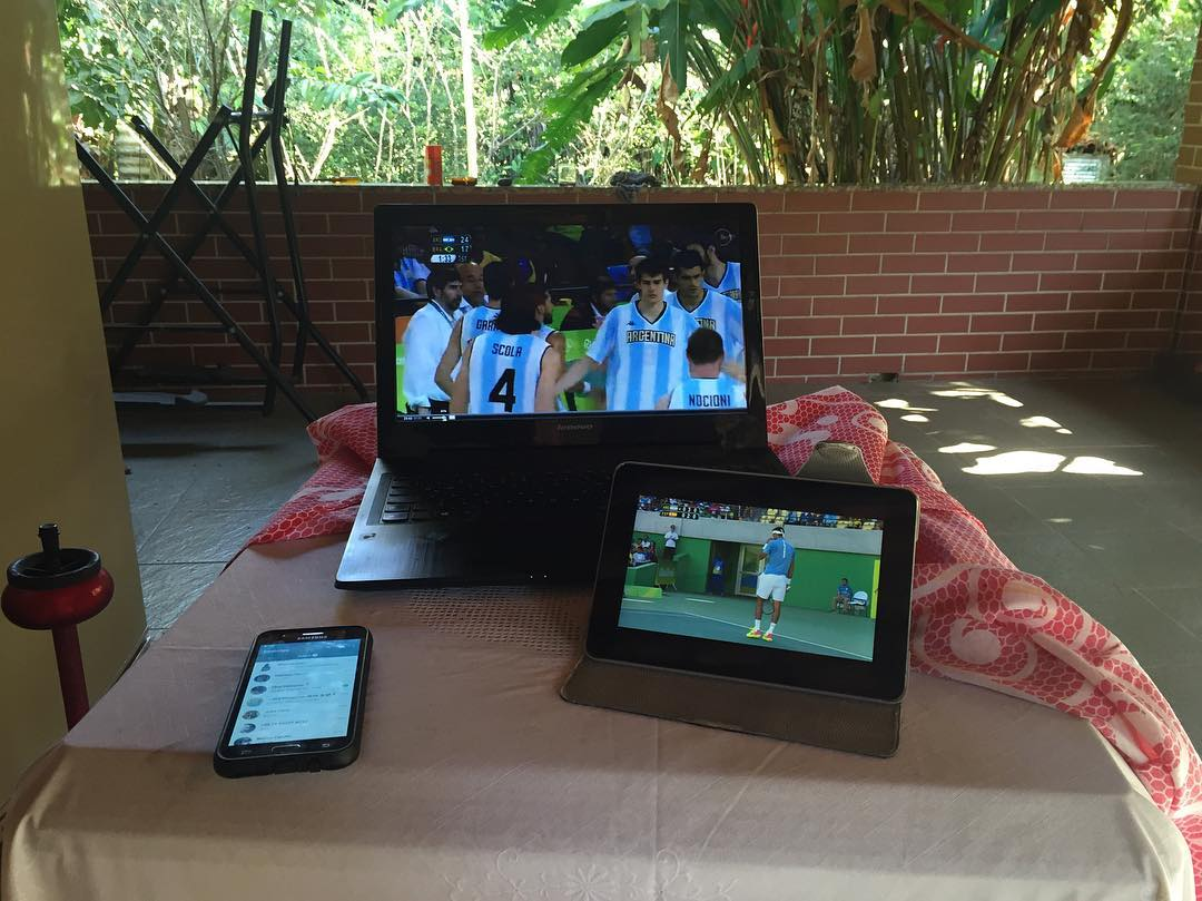 #Rio2016 #Olympics #multitasking