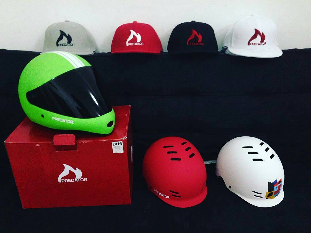 @Regrann from @alecbuan -  Big shout out to @predatorhelmets for their love and support for the upcoming second Emirates Downhill Challenge 2016... #uae #emiratesdownhillchallenge2016  #emiratesdownhillchallenge  #edc2016 #auhcrew