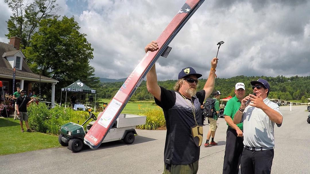 Thank you to everyone who came out to our Vermont Charity Golf Tournament yesterday. The weather was not on our side but that did not stop the good vibes and high fives from flowing. Until next year! #highfivescharitygolf #nposummergames
