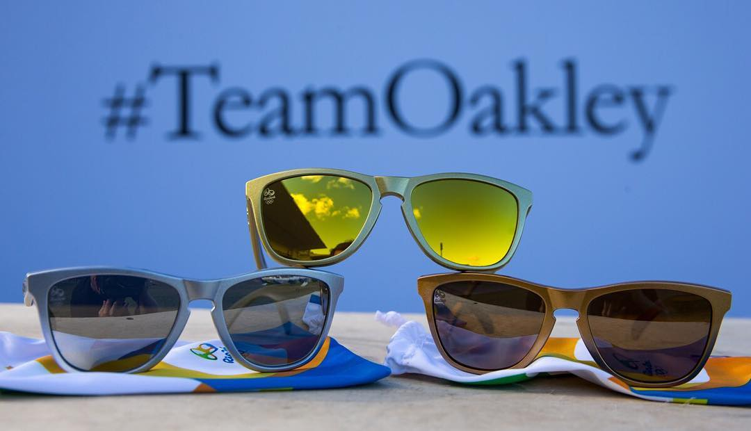 Made for champions. #TeamOakley