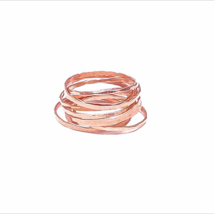 So pumped for the new Rose Gold additions in the shop! Ah! The trifecta is here!!!! Available in the Romantic Stacking Rings and the Line Stud Sets!  Visit www.JuliaSzendrei.com  #rosegold #pink #rosegoldring #rosegildjewelry #new #fashion #styleguide...
