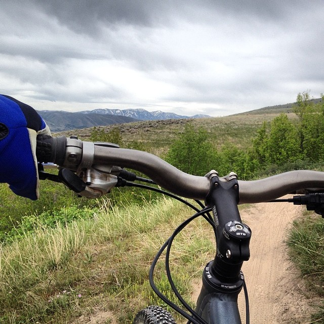From Pocatello, the snow might still be visible at Pebble Creek, but the potential to ski is fading fast. With the seasons changing gears, we like to change gears too... About 27 of them. The local mountain biking has been goin' off lately!  Photo:...