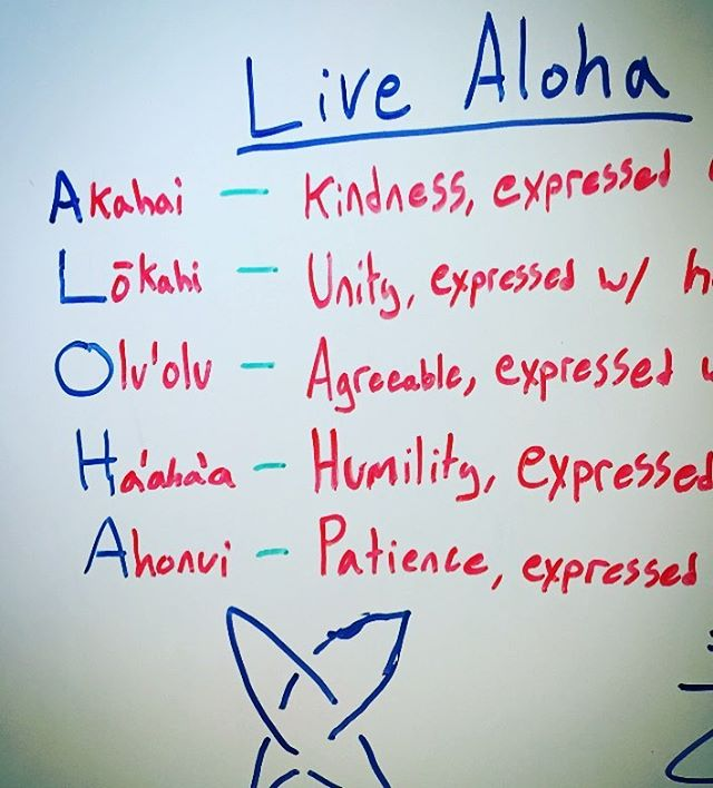 Thanks to our #Maui born ambassador @zaniac1  for stopping by our HQ office - to grab some markers and share the deeper meaning of #Aloha with us on our whiteboard. We'll be saving that #brainstorm in the permanent file .