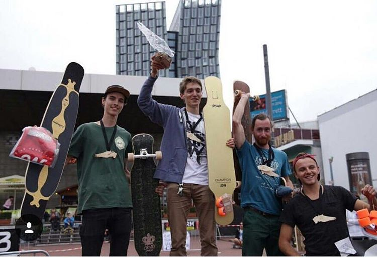 Team rider @woutershans took 3rd place at the Hamburg Longboard Open! PC: @skate_awhou