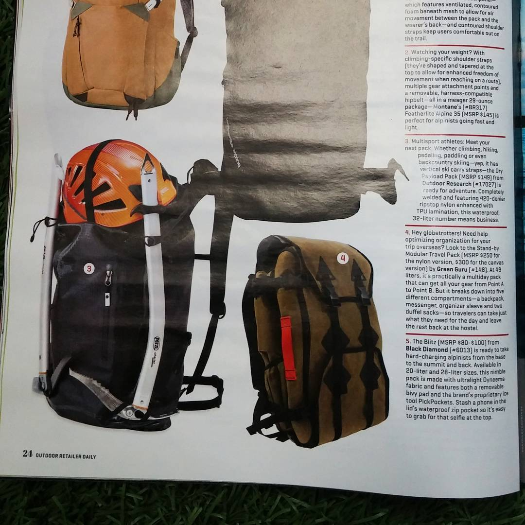 We made the #orshow daily news for our #standby #travel pack
