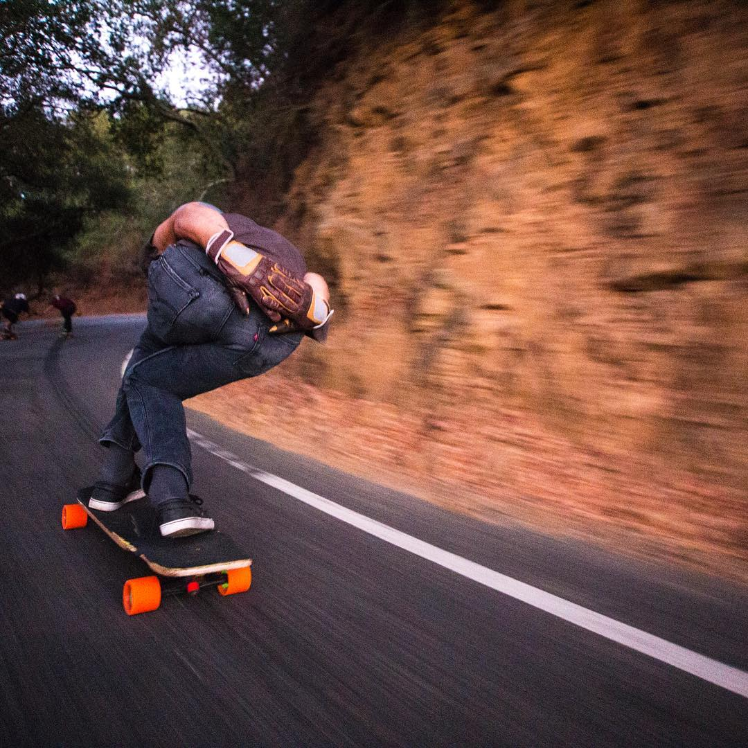#OrangatangAmbassador @alex_colorito recently moved to California and has been skating the local hills nonstop.