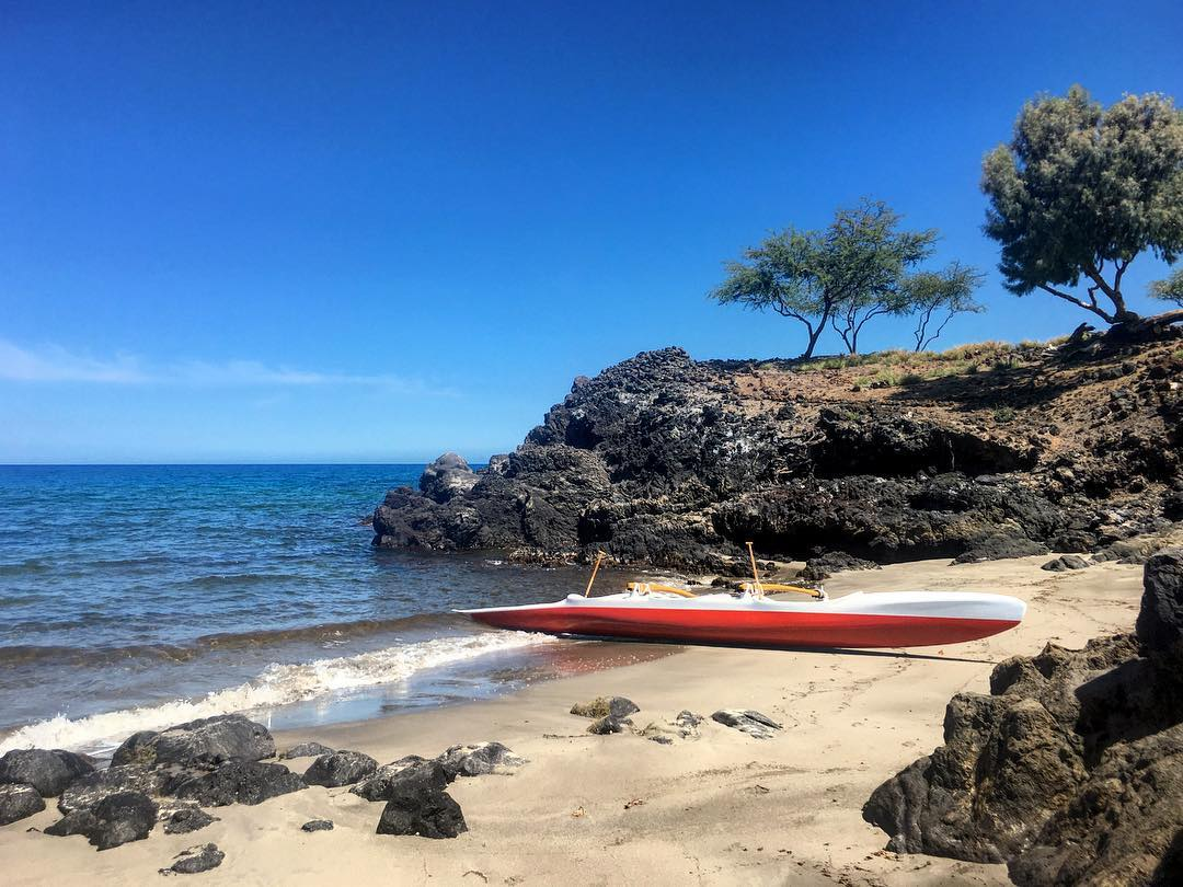 Where will your paddle take you this week? #PaddleHawaii #bamboopaddle
