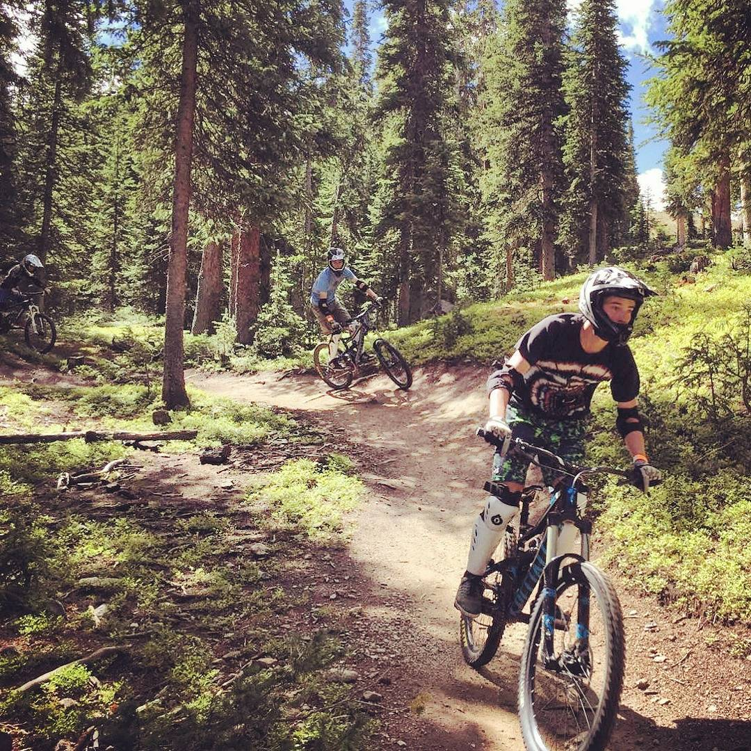 ​ The trails at @keystone_resort made for incredible Learn to #Mountain#Bike sessions last week. Thanks to the#mtn and our awesome instructor Gabby for making it possible